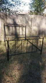 Metal bed frame in Macon, Georgia