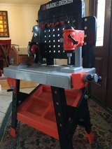 Black & Decker Toy Tool Bench with Tools in Lockport, Illinois