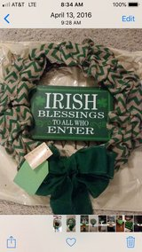 St Patrick's Day Wreath in Conroe, Texas