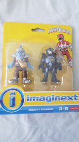 Imaginext power rangers new in box in Bolingbrook, Illinois