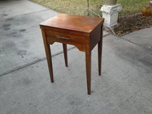 Tall, antique Entry way table in The Woodlands, Texas