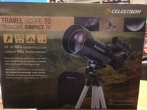 Telescope - Like New only out of box 1 time in Camp Lejeune, North Carolina