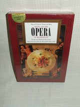 Dining and The Opera in Manhattan Menus & Music Cookbook & CD's NEW in Naperville, Illinois