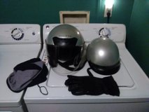 2 motorcycle helmets in Clarksville, Tennessee