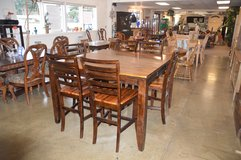 Tall Table, Butter fly leaf and 6 chairs in Fort Lewis, Washington