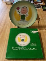 PEANUTS 1ST EDITION COLLECTOR PLATE in Cherry Point, North Carolina