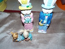Easter Bunny Rabbit Figurines - $1 in The Woodlands, Texas