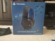 PlayStation Gold Wireless Stereo Headset in Okinawa, Japan