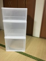 3 drawer stackable dresser storage bins in Okinawa, Japan