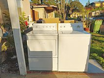 Kenmore washer and electric dryer set in Camp Pendleton, California