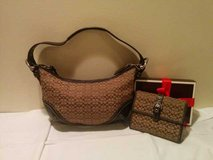 Coach Mini Hobo Purse + Wallet in Aurora, Illinois