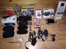 psp3x psgo1x and gear and games withTEMP bootloader CFW in Spangdahlem, Germany