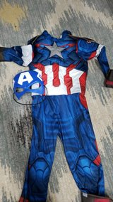 Captain America costume in Kingwood, Texas