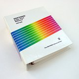 1987 PANTONE LIBRARY OF COLOR 747XR: Volume 2 Tint Selector VG+ in Westmont, Illinois