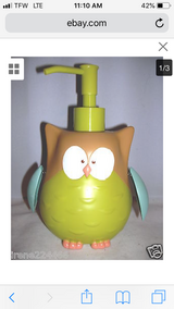 OWL soap dispenser in Aurora, Illinois