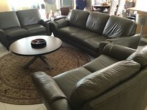 Beautifull 3 leather couches in Fort Campbell, Kentucky