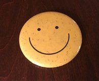 Smiley Face Pin in Bolingbrook, Illinois