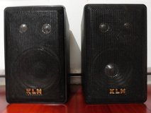 VINTAGE LINEAR DYNAMICS by KLH 403 BOOKSHELF INDOOR/OUTDOOR SPEAKERS in Travis AFB, California