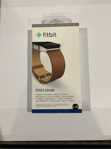 Fitbit blaze Camel with stainless frame L/G in Westmont, Illinois