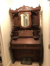 Antique pump organ (does not play) in Moody AFB, Georgia
