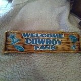 welcome sign fans in Alamogordo, New Mexico