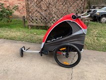 Burley Kids' Trailer with Solo Jogger Kit in Kingwood, Texas