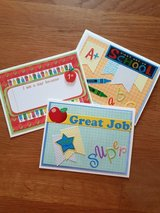 NEW, 3 Handmade Cards With Envelopes For Elementary Students in Ramstein, Germany