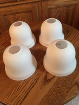 4 White Glass Shades #4 in Plainfield, Illinois