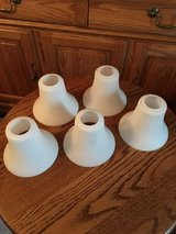 5 White Glass Shades #5 in Plainfield, Illinois