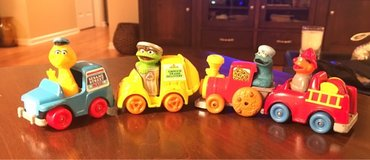 Vintage Sesame Street Vehicles in Chicago, Illinois