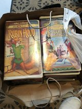 Two U.S.VHS bags of 40+  titles -many Disney in Ramstein, Germany