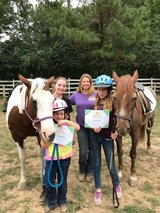 Pony-Pals age 3-7 Riding Program in Fort Campbell, Kentucky