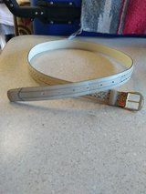 Mens belt size 34, vintage. Like New in Alamogordo, New Mexico