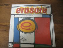 Erasure-It Doesn't Have To Be 1987 LP Vinyl in Houston, Texas