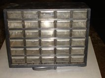 30 DRAWER PLASTIC STORAGE CASE in St. Charles, Illinois