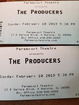 The Producers in Aurora, Illinois
