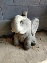 Concrete Elephant in Fort Rucker, Alabama