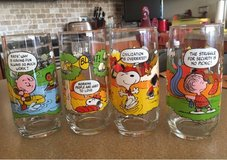 Vintage Camp Snoopy Glasses in Bolingbrook, Illinois
