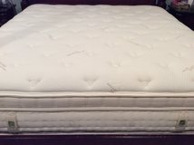 Now Reduced - Aireloom King Mattress and Box Springs Organic Cotton with Memory Foam in Kingwood, Texas