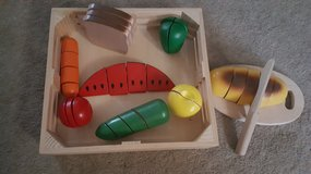 Melissa & Doug--wooden food cutting set in Joliet, Illinois