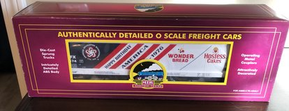 MTH Trains Wonder Bread (56674) 3-Bay Centerflow Hopper Car in Joliet, Illinois