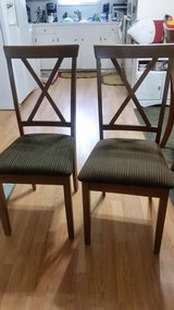 Wood Chairs (2) in Cleveland, Texas