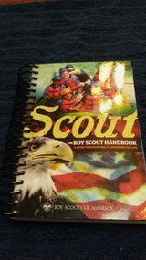 Boyscout handbook in Kingwood, Texas