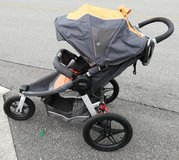 Graco's Relay Click Connect Jogging Stroller, Tangerine, in Okinawa, Japan