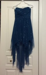 Sparkled blue Homecoming/turn about/Party dress in Joliet, Illinois