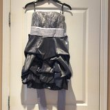 Grey short Homecoming/Party dress in Joliet, Illinois