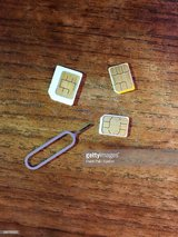 looking for old American SIM card. just need to unblock cellphone(American) in Ramstein, Germany