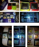Two Nintendo Gameboys with case and games in Lockport, Illinois