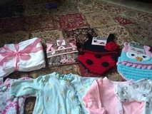 Baby girl cloths 0-3 months some new in Fort Bragg, North Carolina