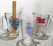 3 Vintage Glass Beer Pitchers in Glendale Heights, Illinois